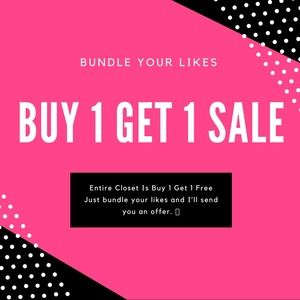 Shoes - Entire Closet is Buy 1 Get 1 Free Sale Ends Soon